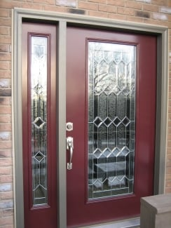 All replacement doors use safety or tempered glass for security and comfort.