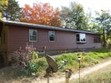EMCO Weatheredwood Seamless Steel Siding, Redwood, with Musket Soffit and Fascia