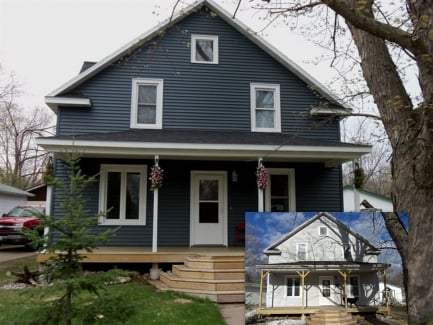 Before Amp After Exterior Home Makeovers Liberty Exteriors