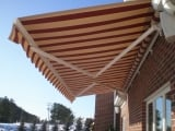 Sunshelter Retractable Awning [Havelock Brick]