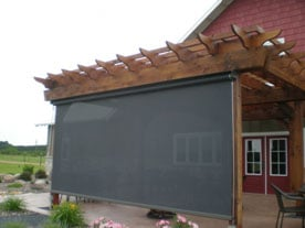Sunesta Awnings Eau Claire Wisconsin - Professional awning installation by Liberty Exteriors